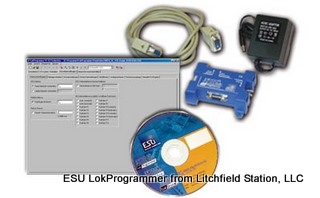 Computer Interface LokSound programmer USB or serial port - European