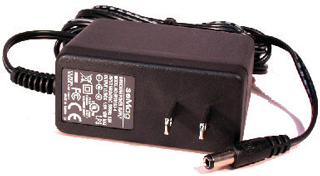 Power Supply 13.8 volt DC 1.1 amp 2.5 mm plug P114