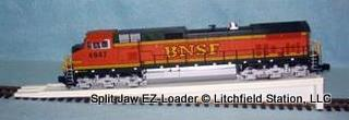 EZ Loader 36 inches long for LGB Brass Track G code 332 by Split Jaw Products