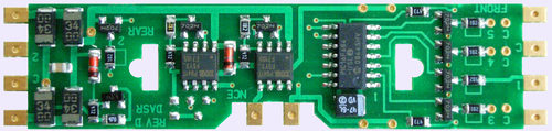 HO DCC decoder LocoSpecific Atlas light board by NCE DA-SR - Single Unit