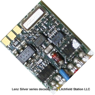 Z DCC decoder premium by Lenz Silver+Mini