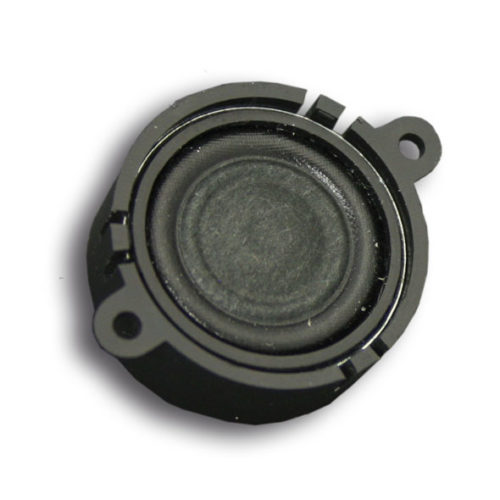 23mm, round, 4 Ohms, 1~2W, with sound chamber