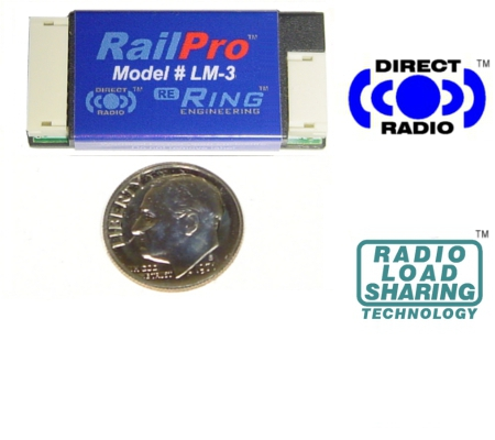 RailPro LM-3 HO Scale Locomotive Module without Sound - #634-LM-3